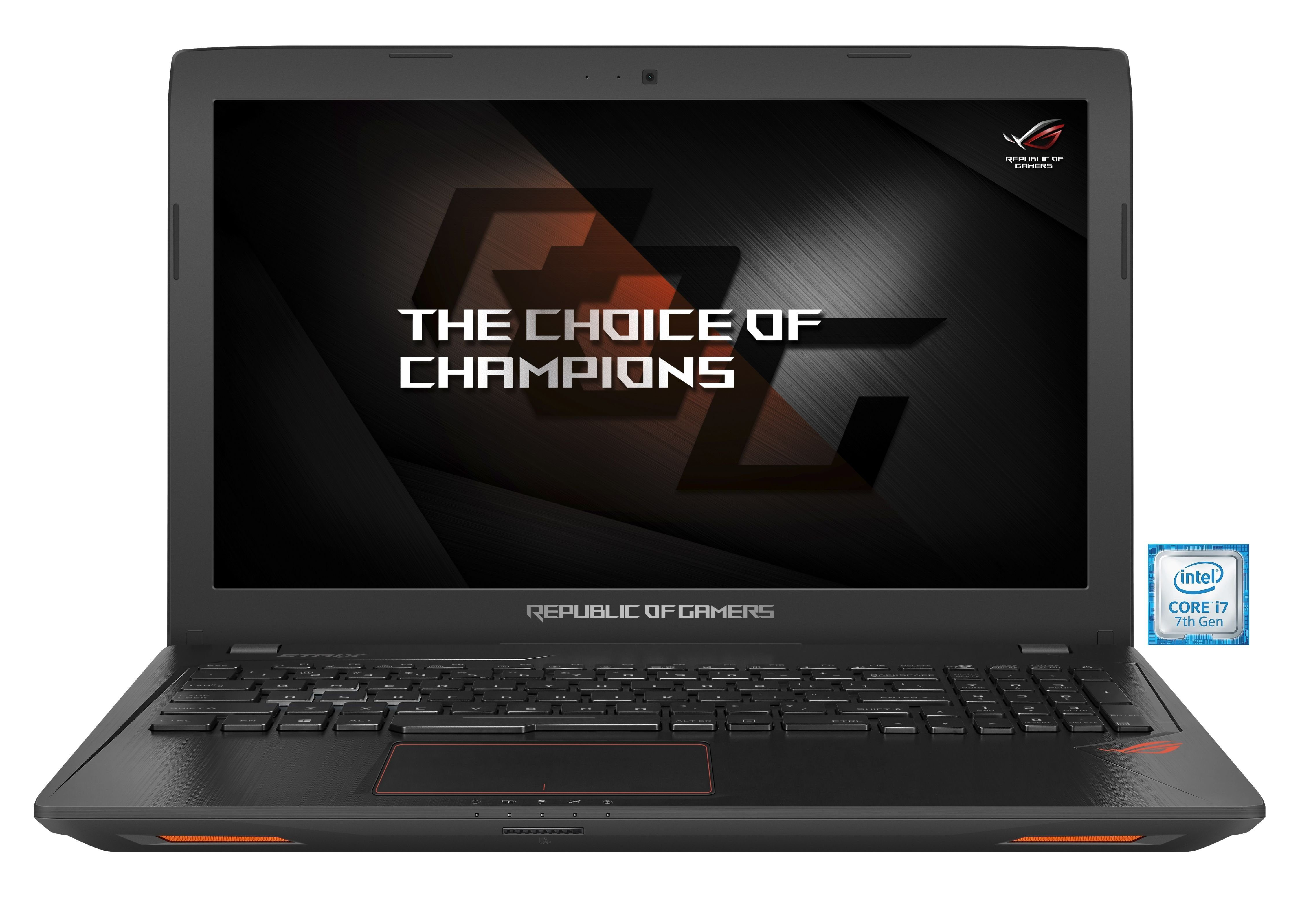 "ASUS ROG GL553VD-FY072T Gaming-Notebook »Intel Core i7, 39,6cm (15,6""), 128 GB + 1 TB, 8 GB«"